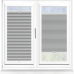 Hive Blackout Iron Perfect Fit Cellular Blind