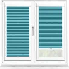 Hive Blackout Teal Perfect Fit Cellular Blind