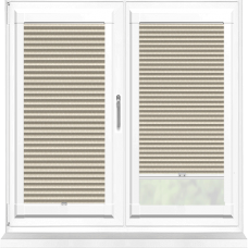 Hive Geo Blackout Oyster Perfect Fit Cellular Blind