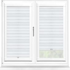 Bianca White Perfect Fit Pleated Blind