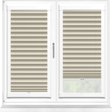 Galaxy ASC Blackout Calico Perfect Fit Pleated Blind