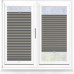 Galaxy ASC Blackout Concrete Perfect Fit Pleated Blind