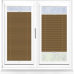 Infusion ASC Coffee Perfect Fit Pleated Blind