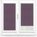 Infusion ASC Grape Perfect Fit Pleated Blind