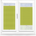 Infusion ASC Lime Green Perfect Fit Pleated Blind