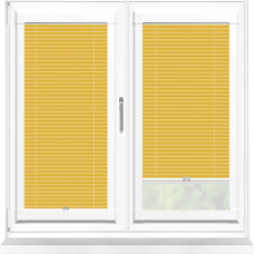 Infusion ASC Ochre Perfect Fit Pleated Blind
