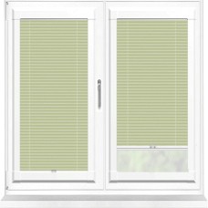 Infusion ASC Olive Haze Perfect Fit Pleated Blind