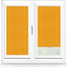 Infusion ASC Saffron Perfect Fit Pleated Blind