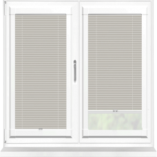 Infusion ASC Stone Grey Perfect Fit Pleated Blind