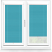Infusion ASC Teal Perfect Fit Pleated Blind