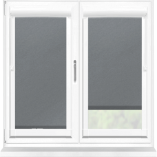 Polaris Blackout Charcoal Perfect Fit Roller Blind