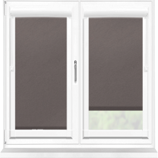 Polaris Blackout Chocolate Perfect Fit Roller Blind