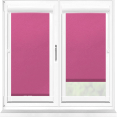 Polaris Blackout Fuchsia Perfect Fit Roller Blind