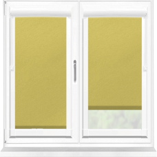 Polaris Blackout Lime Perfect Fit Roller Blind