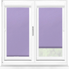 Polaris Blackout Mauve Perfect Fit Roller Blind