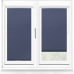 Polaris Blackout Navy Perfect Fit Roller Blind