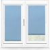 Polaris Blackout Ocean Blue Perfect Fit Roller Blind