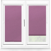Polaris Blackout Raspberry Perfect Fit Roller Blind