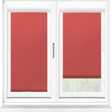 Polaris Blackout Scarlet Perfect Fit Roller Blind