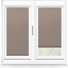 Polaris Blackout Taupe Perfect Fit Roller Blind