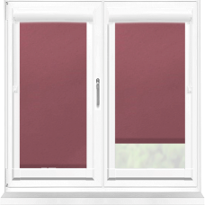 Polaris Blackout Wine Perfect Fit Roller Blind