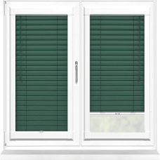 Bottle Green Perfect Fit 25mm Venetian Blind