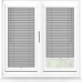 Brushed Steel Perfect Fit 25mm Venetian Blind