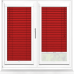 Fire Engine Red Perfect Fit 25mm Venetian Blind