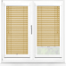 Maple Wood Effect Perfect Fit 25mm Venetian Blind