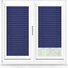 Navy Perfect Fit 25mm Venetian Blind