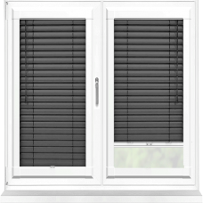 Origin Black Perfect Fit 25mm Venetian Blind