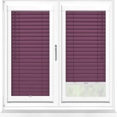 Plum Perfect Fit 25mm Venetian Blind