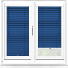 Regal Blue Perfect Fit 25mm Venetian Blind