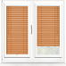 Tangerine Perfect Fit 25mm Venetian Blind