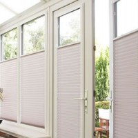 Bottom Up Pleated Perfect Fit Conservatory