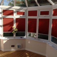 Dimout Pleated Perfect Fit Conservatory