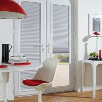 French Door Pleated Perfect Fit