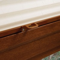 Pleated Golden Oak Perfect Fit