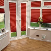 Pleated Perfect Fit Conservatory Doors