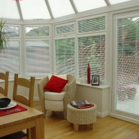 White Venetian Perfect Fit Conservatory